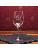 Wheaton College 16 Oz. Wine Glass