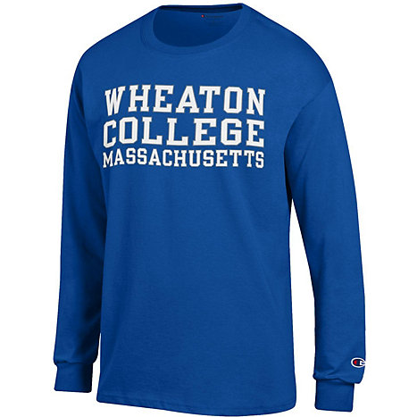 Product: Wheaton College Long Sleeve T-Shirt