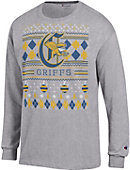 Canisius College Griffins Ugly Sweater Long Sleeve T-Shirt