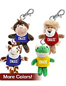 UMASS Plush Animal Keychain