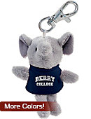 Berry College Plush Keychain