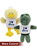 Berry College 'I Heart' Plush Magnet