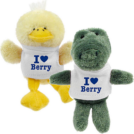 Product: Berry College 'I Heart' Plush Magnet
