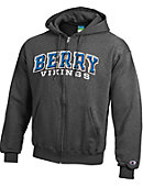 Berry College Vikings Full Zip Hooded Sweatshirt