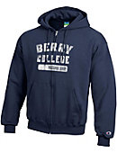 Berry College Full-Zip Hooded Sweatshirt