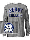 Berry College Vikings Long Sleeve Victory Falls T-Shirt