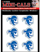 Seton Hall University Pirates Face Cal Decal