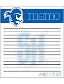 Seton Hall University Pirates Memo Pad 2 Pack