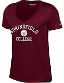 Springfield College Women's V-Neck T-Shirt