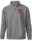 Springfield College 1/4 Zip Tri-Blend Top