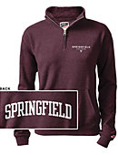 Springfield College Women's 1/2 Zip Top
