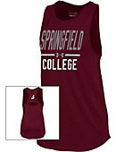 Springfield College Spirit Women's Cut Out Tank Top