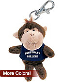 Centenary College Plush Keychain