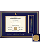 University of California - Berkeley 8.5x11 Windsor Diploma and Tassle Frame