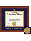 University Of California, Berkeley Millenium BA/MA/PhD Diploma Frame -ONLINE ONLY