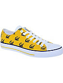 University of California Berkeley Golden Bears Low Top Canvas Shoe