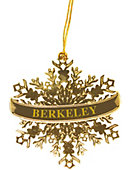 University of California Berkeley Snowflake Ornament
