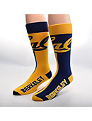 University of California Berkeley Women's Thin Mismatched Boot Socks