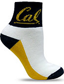 University of California Berkeley 1/4 Socks