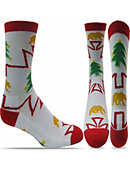 University of California Berkeley Christmas Tree Crew Socks