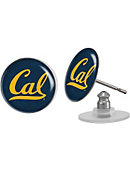 University of California Berkeley Domed Earrings