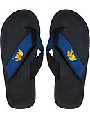 University of California Berkeley Golden Bears Canvas Versity Flip Flops