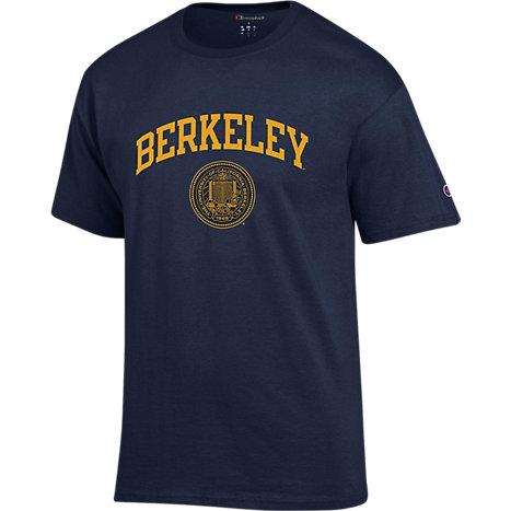 university of california berkeley short sleeve t shirt