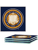 University of California Berkeley Glass Coasters Set of 4