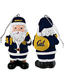 University of California Berkeley 3.25'' Santa Ornament