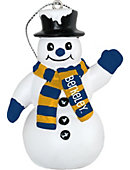 University of California Berkeley Golden Bears 3 in. Snowman Ornament