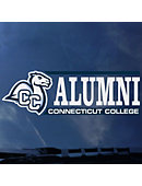 Connecticut College Alumni Decal