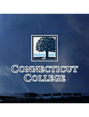 Connecticut College Decal Primary