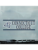 Connecticut College Camels Cling Decal