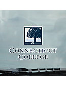 Connecticut College Cling Decal