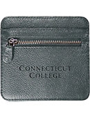 Connecticut College Leather Wallet