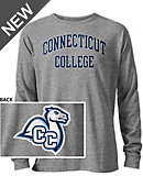 Connecticut College Camels Long Sleeve Victory Falls T-Shirt