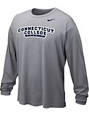 Nike Connecticut College Camels Dri-Fit Long Sleeve T-Shirt