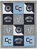 Connecticut College 62'' x 80'' Spirit Blanket