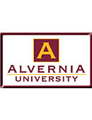 Alvernia University 2.2''x3.6'' Dome Magnet