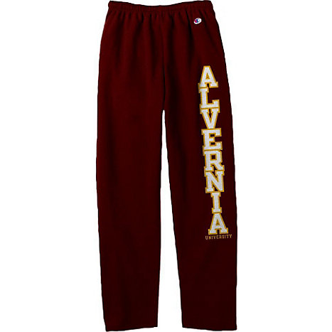 Product: Alvernia University Open Bottom Sweatpants