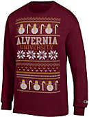 Alvernia University Ugly Sweater Long Sleeve T-Shirt