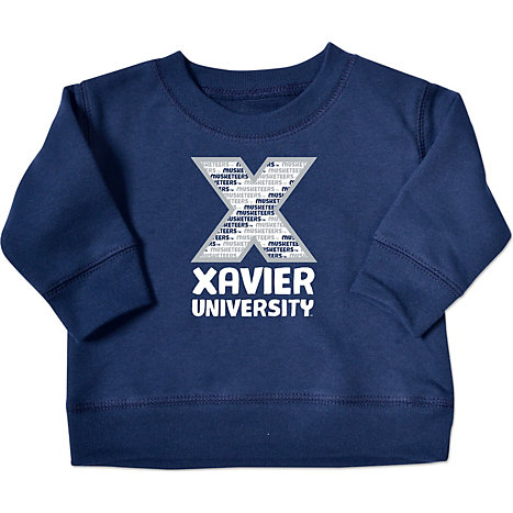 Xavier University Musketeers Toddler Crewneck Sweatshirt | Xavier ...