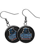 Georgia State University Panthers Earrings