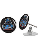 Georgia State University Panthers Domed Earrings 3-Count