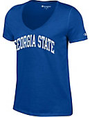 Georgia State University Women's V-Neck T-Shirt