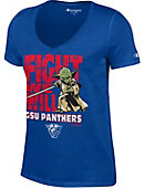 Georgia State University Panthers Women's Star Wars V-Neck T-Shirt