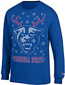 Georgia State University Panthers Ugly Sweater Long Sleeve T-Shirt