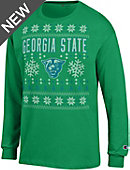Georgia State University Ugly Sweater Long Sleeve T-Shirt