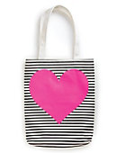 Ban.do CANVAS TOTE NEON HEART