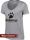 Quinnipiac University Bobcats Women's V-Neck T-Shirt